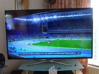 """Samsung 60"""" Smart 3D LED tv. 21 months old."""