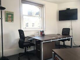 2 Desks available in Fitzrovia! £350.00pcm per Desk