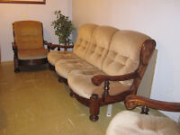 Vintage 3 Piece Sofa Suite made by Allders