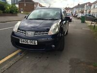 Nissan Note 1.4 Lit 5 Door - Full Service History - Very Low Mileage
