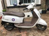 2008 sym fiddle 125 scooter running well long mot £699