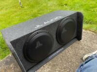 JL audio sound system with focal front end