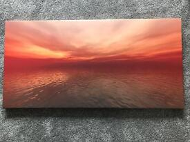 """Carl Baker 2006 """"Summer Storm"""" Limited Edition Boxed Print, Picture Frame"""