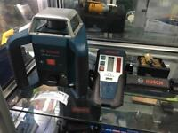 Bosch GRL 400 H pro self levelling and receiver