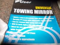 New towing mirror