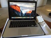 MacBook Pro 13inch Intel-core2 Duo 8GB RAM 128GB SSD mid 2009