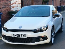 VW Scirocco 2.0 TSI GT - Candy White, Panoramic Roof, Heated Seats