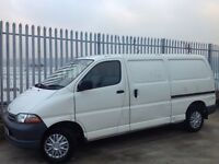 TOYOTA HIACE POWER VAN GS LWB DIESEL WHITE