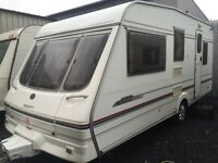 Swift Alouette 5/6 B/ V Clean & Dry /Serviced /Full Awning & Acces - Superb Van - All Mod Cons!!
