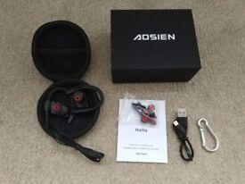Brand new Aoslen Bluetooth Headphones, Wireless Earbuds w/ Mic IPX7 Sports Waterproof