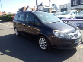 2006 VAUXHALL ZAFIRA 1.6 PETROL MANUAL 3 Months Warranty Available