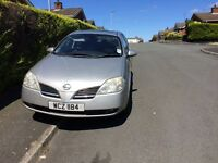 2004 Nissan Primera for parts or repair