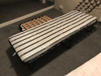 Single fold up beds