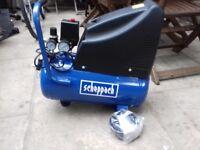 New scheppach Hc250 compressor new .