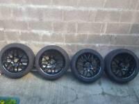 BMW CSL style alloys +4 tyres
