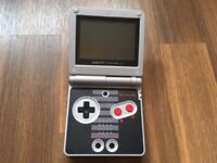 Gameboy Advance SP Nes Shell Edition + Pokemon Red