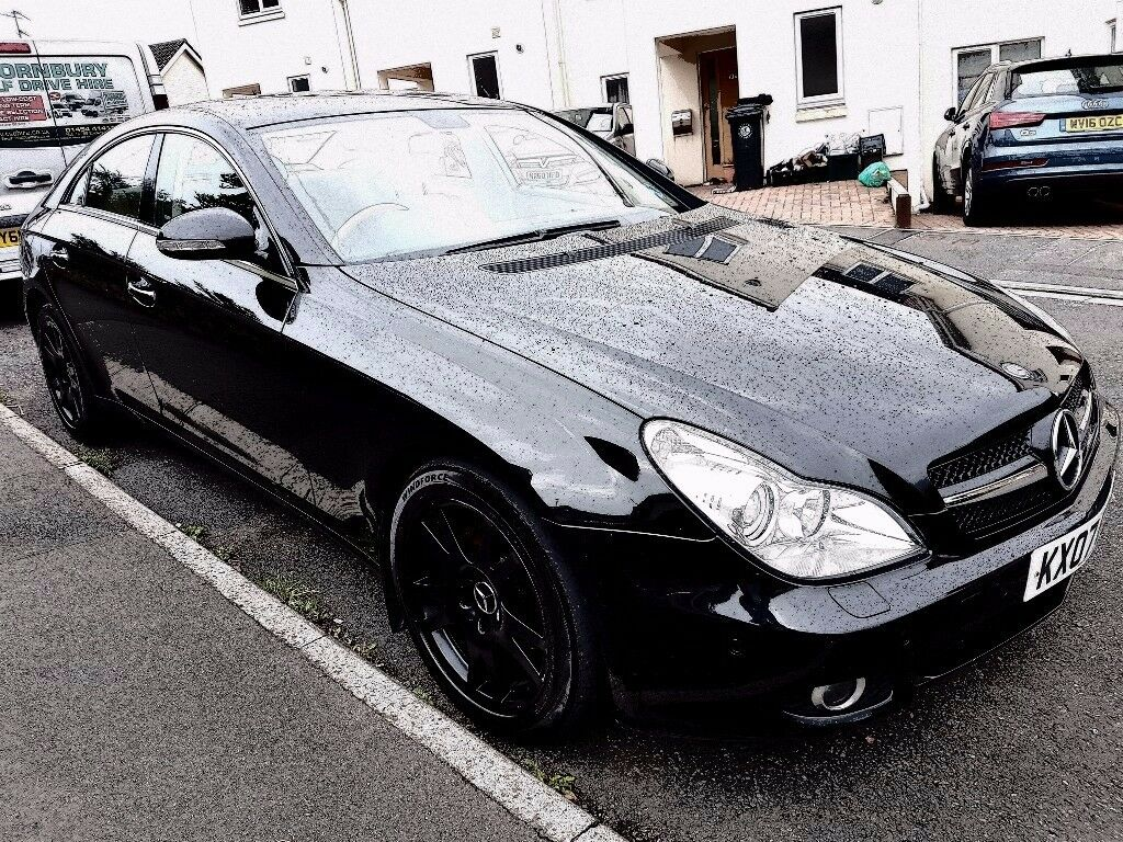 Mercedes cls 320 7g tronic year 2007