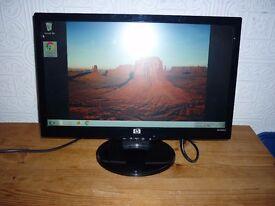 "HP 20"" PC Screen"