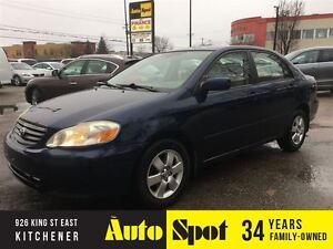 2003 Toyota Corolla LE/ PRICED FOR A QUICK SALE!