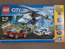 ( New and Sealed ) Lego Police set 66550 ( 3 in 1 ) - 60137, 60138 and 60139