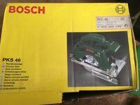 Bosch PKS46 Cicular saw with extra blades