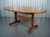 Retro G Plan Extendable Teak Dining Table Vintage Furniture