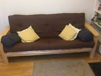 Almost new futon in a great condition (less than 1 year old)!