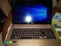 Gaming i7 ssd 750m geforce Laptop / may trade