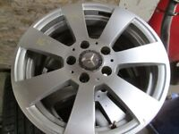 CHOICE OF GENUINE MERCEDES 16''ALLOYS FOR SALE