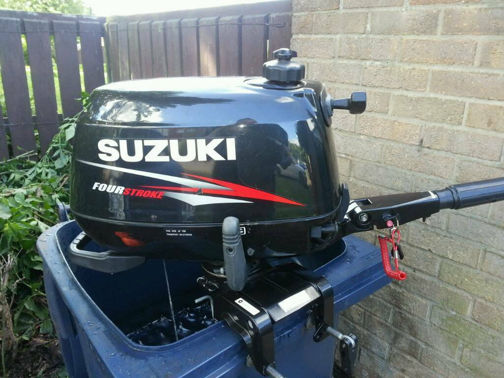 Suzuki df6 outboard motor 6hp in washington tyne and for 6 hp motor for sale