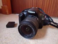 Canon 1100D DSLR camera