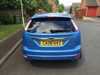 FORD FOCUS 1.6 TITANIUM 5 DOOR 2008 12 MONTHS MOT LOW MILES DELIVERY AND PART EXCHANGE AVAILABLE