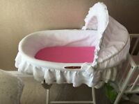 Picci Moses Basket With Stand