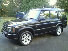 LANDROVER DISCOVERY LANDMARK TD5 7SEATS 2004