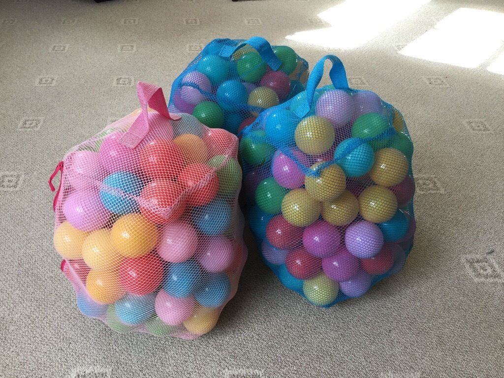 Ball Pit Balls - 3 Bags Hardly Used