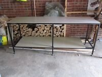 Table for garage or shed