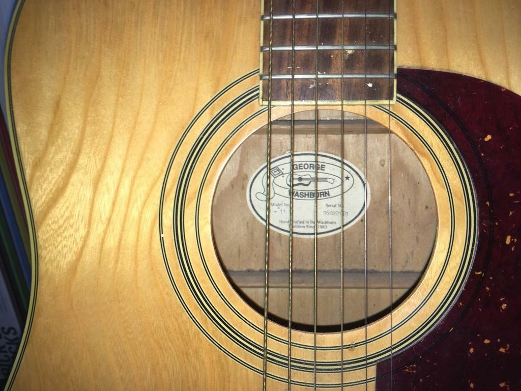 Washburn Acoustic Guitar ( willing to post )
