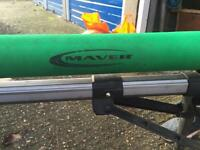 Maver fishing pole roller