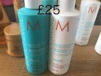 Morocconoil and L'Oréal Professional hair products for sale