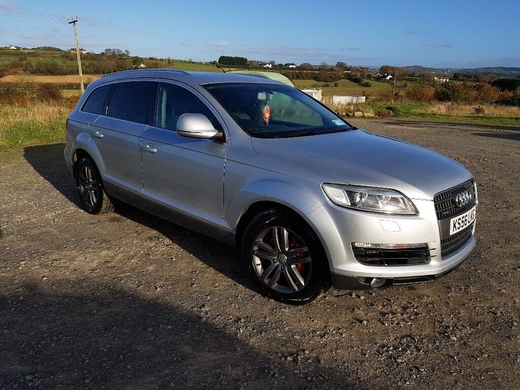 audi q7 7 seater 4x4 automatic cheap car 400 january discount in newry county down gumtree. Black Bedroom Furniture Sets. Home Design Ideas