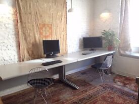 Desk Space available in Creative Studio
