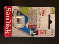 Memory card MicroSDHC SanDisk Ultra 32GB
