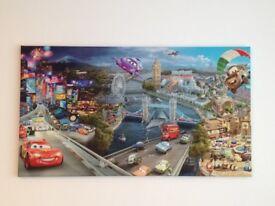 Disney Cars 2 Canvas