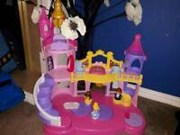 Disney little people castle