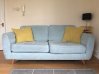 Light Blue DFS Sofa