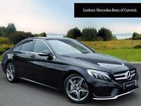 Mercedes-Benz C Class C220 BLUETEC AMG LINE (black) 2014-05-27