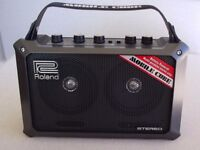 Roland Mobile Cube - battery or mains powered portable amplifier