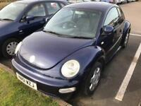 Volkswagen Beetle 2.0 petrol manual 51 Reg mot dec 17 120k miles loads of history drives good