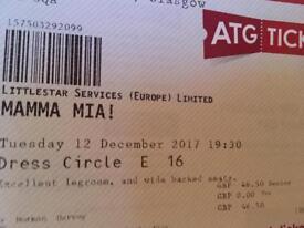 Mamma Mia Seniors Tickets