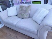 Good Quality very comfy cream 3 seater sofa collect Bar Hill